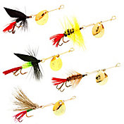 Joe's Flies Hot 4 Trout Willow Leaf Spinner Lures