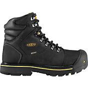 KEEN Men's Milwaukee Waterproof Steel Toe Work Boots