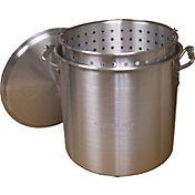 King Kooker 100 Quart Aluminum Pot with Basket and Lid