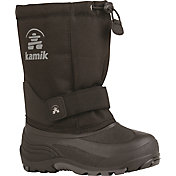 Kamik Kids' Rocket Waterproof Insulated Winter Boots