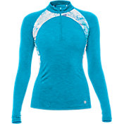 LIJA Women's Streamline Quarter-Zip Golf Pullover