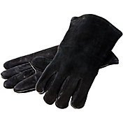 Lodge Red Leather Cooking Gloves