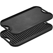 Lodge Cast Iron Pro-Grid Iron Reversible Grill/Griddle