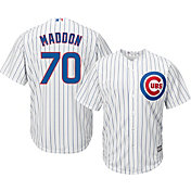 Majestic Men's Replica Chicago Cubs Joe Maddon #70 Cool Base Home White Jersey