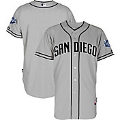 Majestic Men's Authentic San Diego Padres Cool Base Road Grey On-Field Jersey