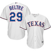 Majestic Men's Replica Texas Rangers Adrian Beltre #29 Cool Base Home White Jersey