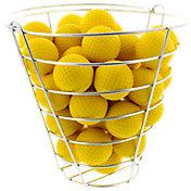 Maxfli Foam Balls & Practice Basket – 42-Pack