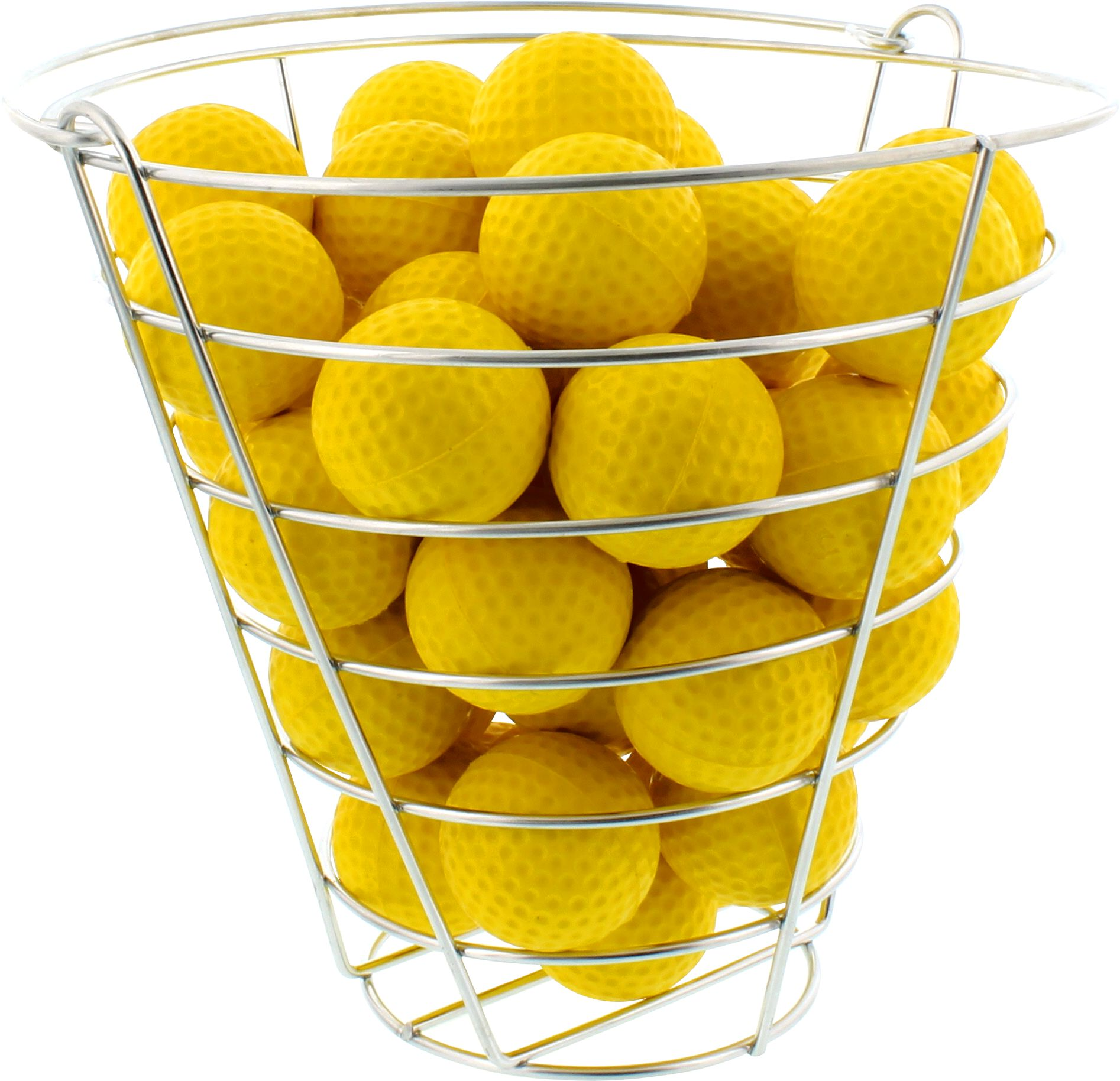 maxfli foam balls u0026 practice basket u2013 42pack