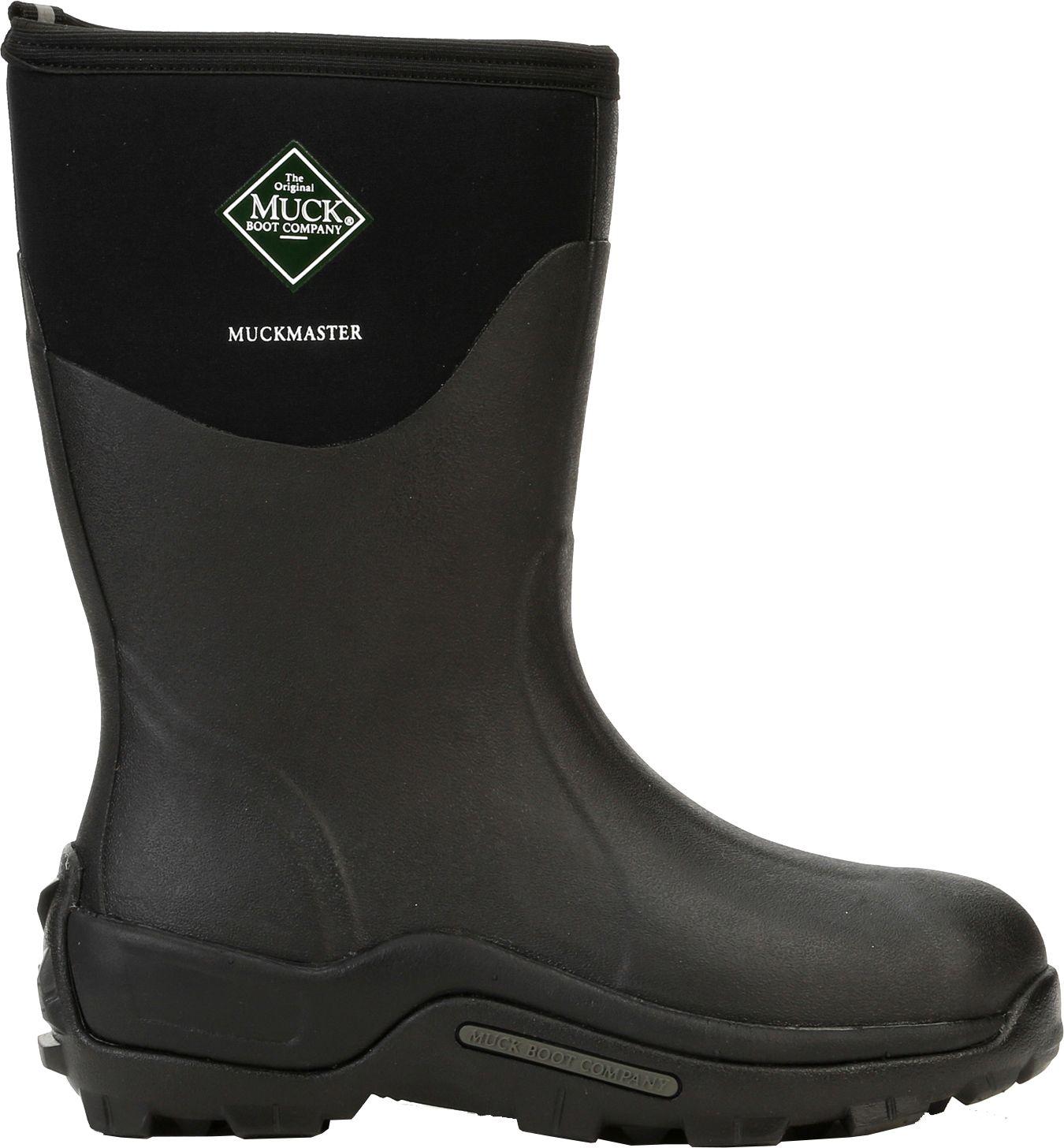 Muck Boot Men's Muckmaster Mid Waterproof Work Boots| DICK'S ...