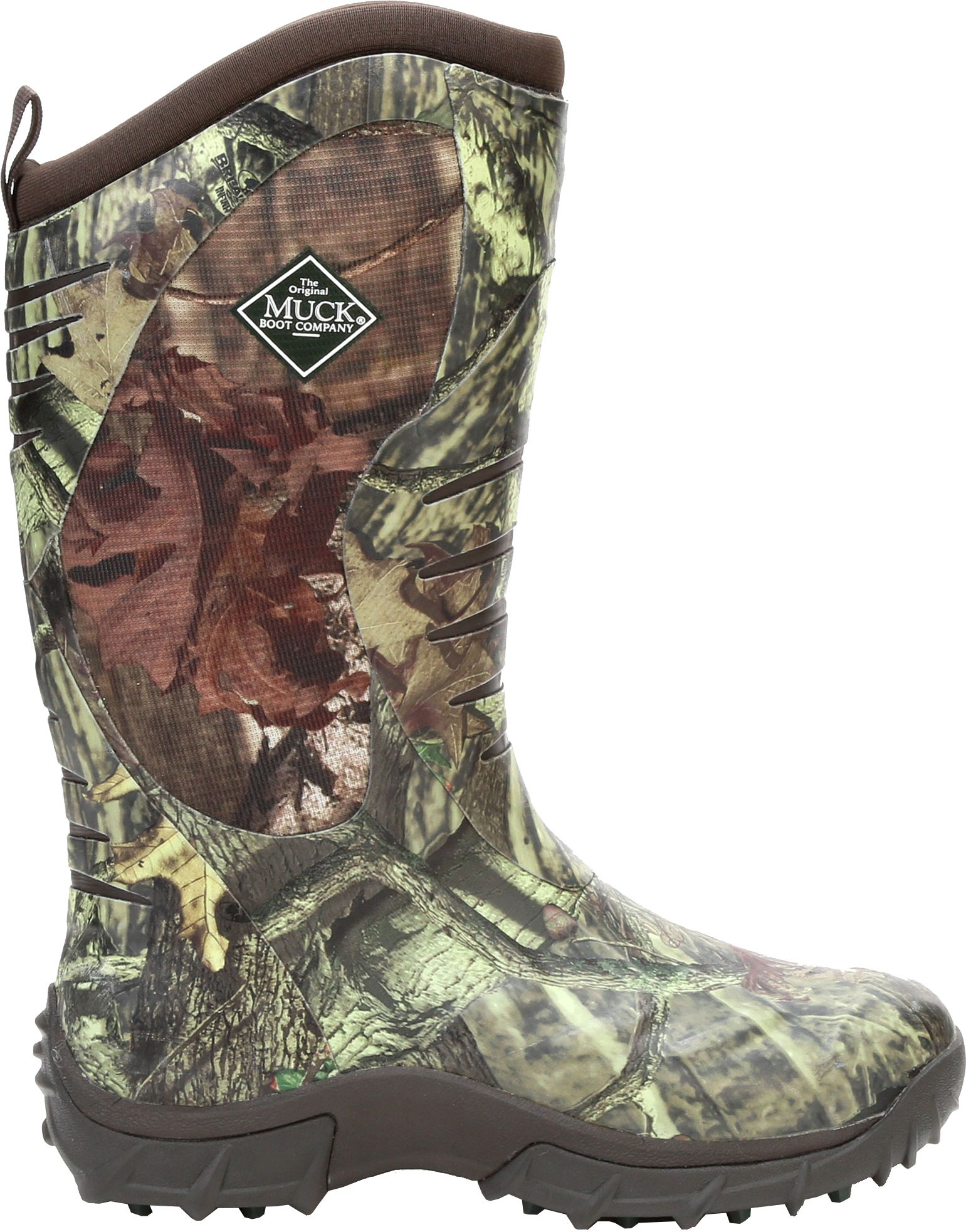 Muck Boot Men's Pursuit Stealth Mossy Oak Rubber Hunting Boots ...