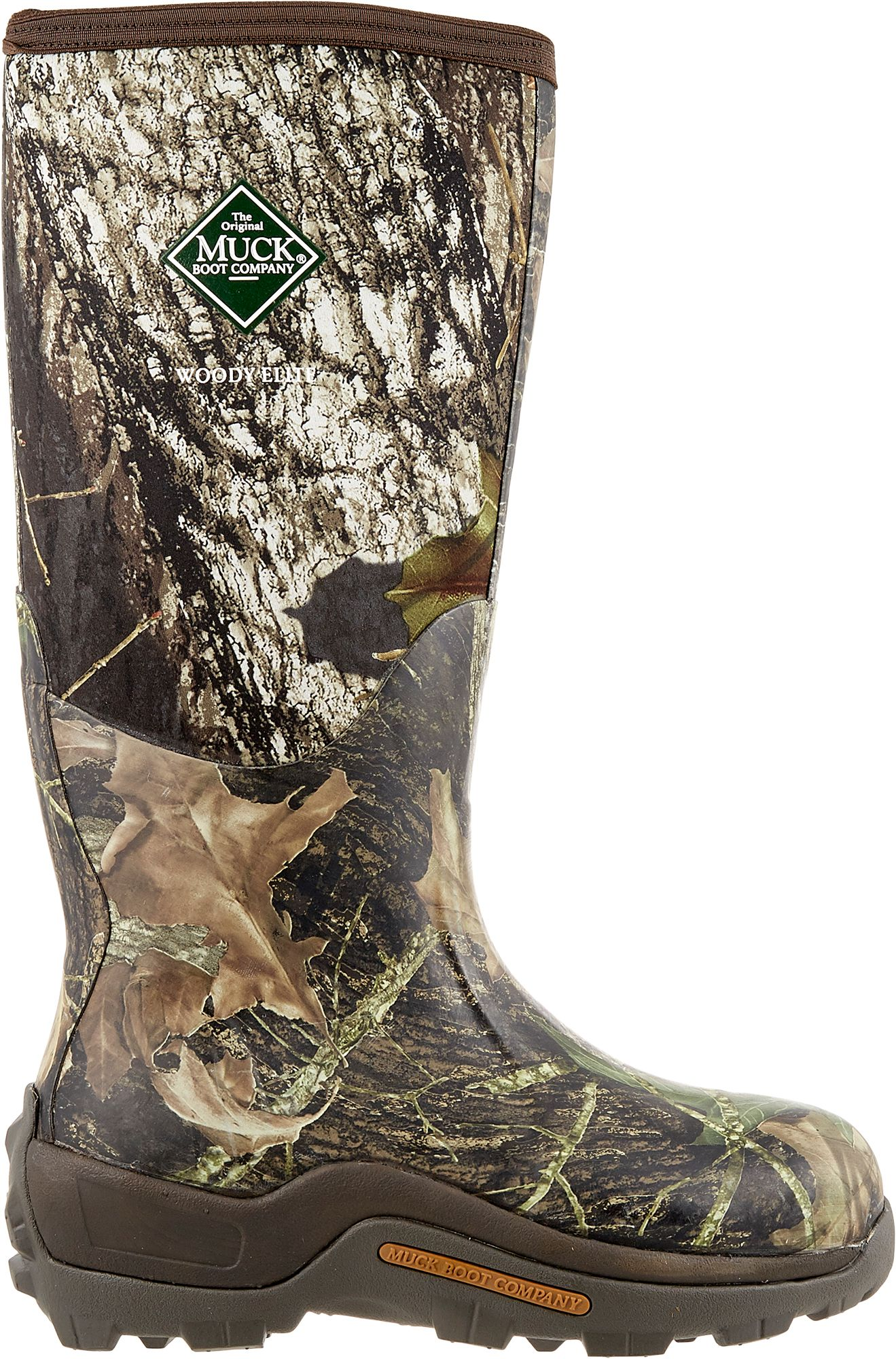 Muck Boot Men's Woody Elite Rubber Hunting Boots| DICK'S Sporting ...
