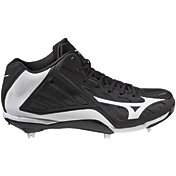 Mizuno Men's Heist IQ Mid Metal Baseball Cleats