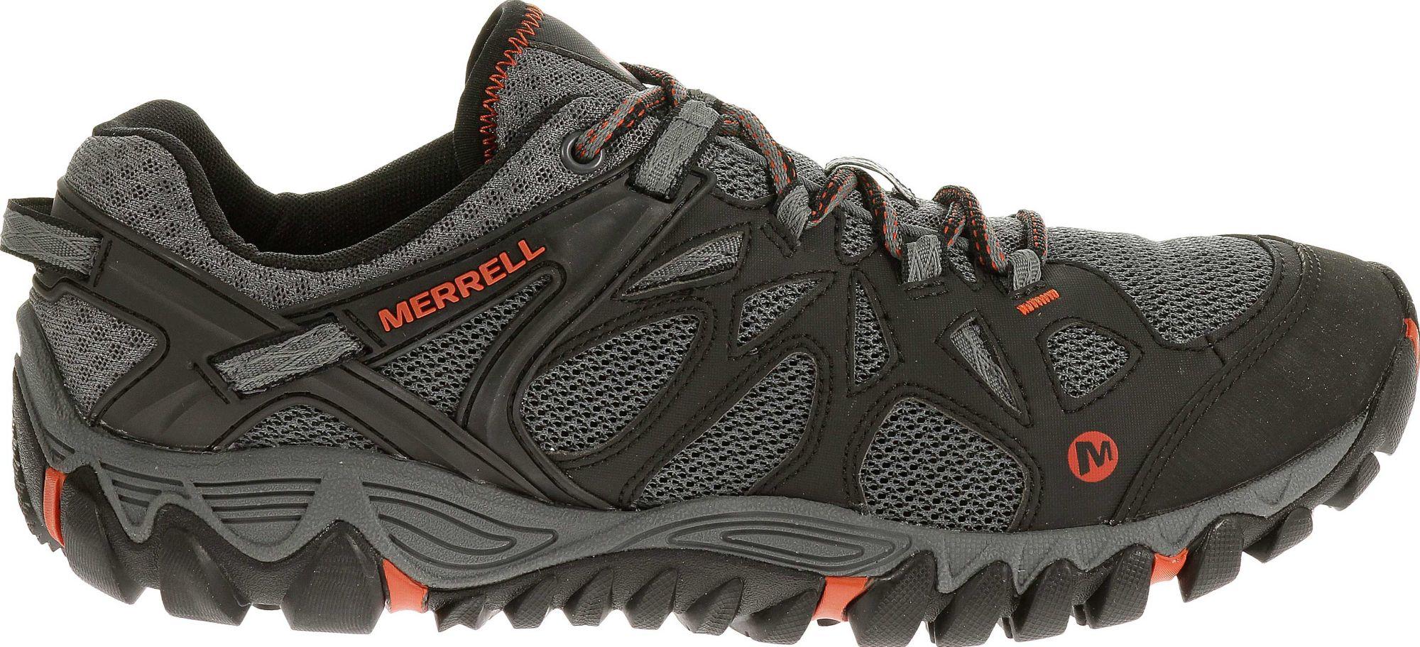 Merrell Men's All Out Blaze Aero Sport Hiking Shoes. 0:00. 0:00 / 0:00.  noImageFound ???