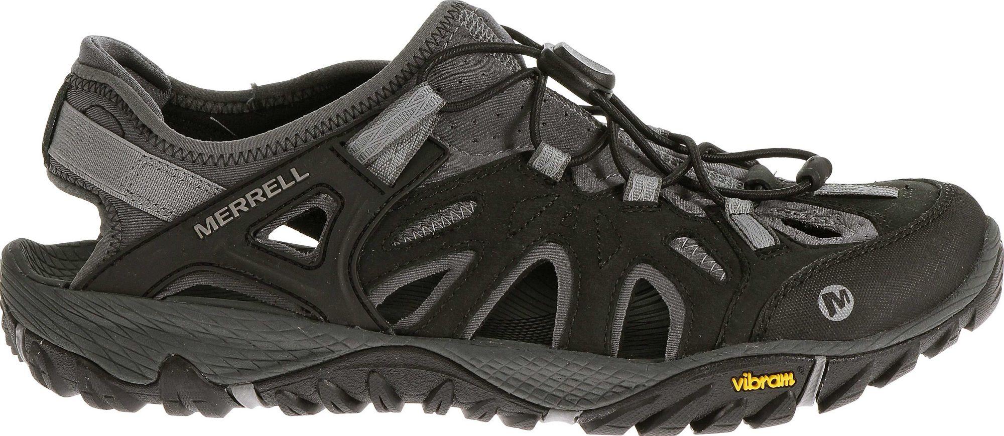 Black merrell sandals - Noimagefound
