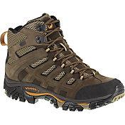 Merrell Men's Moab Peak Ventilator Mid Waterproof Hiking Shoes
