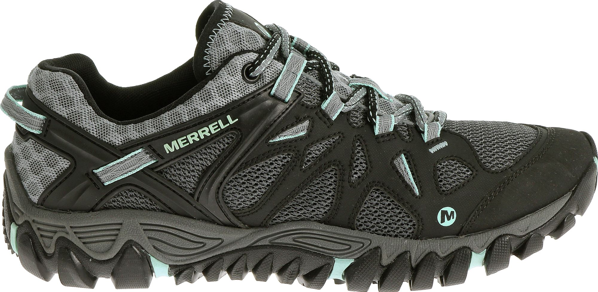 Merrell ALL OUT BLAZE AERO SPORT - Hiking shoes - black I16mKr