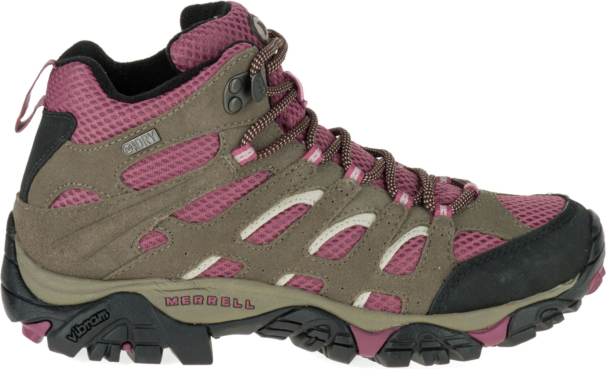 Merrell Women's Moab Mid Waterproof Hiking Boots| DICK'S Sporting ...