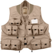 Master Sportsman Convertible Mesh Back Fishing Vest