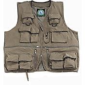 Master Sportsman Olive Alpine Mesh Back Fishing Vest