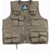 Master Sportsman Olive Alpine Mesh Back Fishing Vest