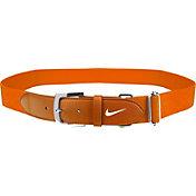 Nike Youth Leather Baseball Belt