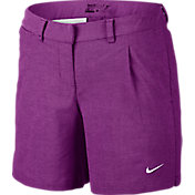 Nike Women's Oxford Golf Shorts