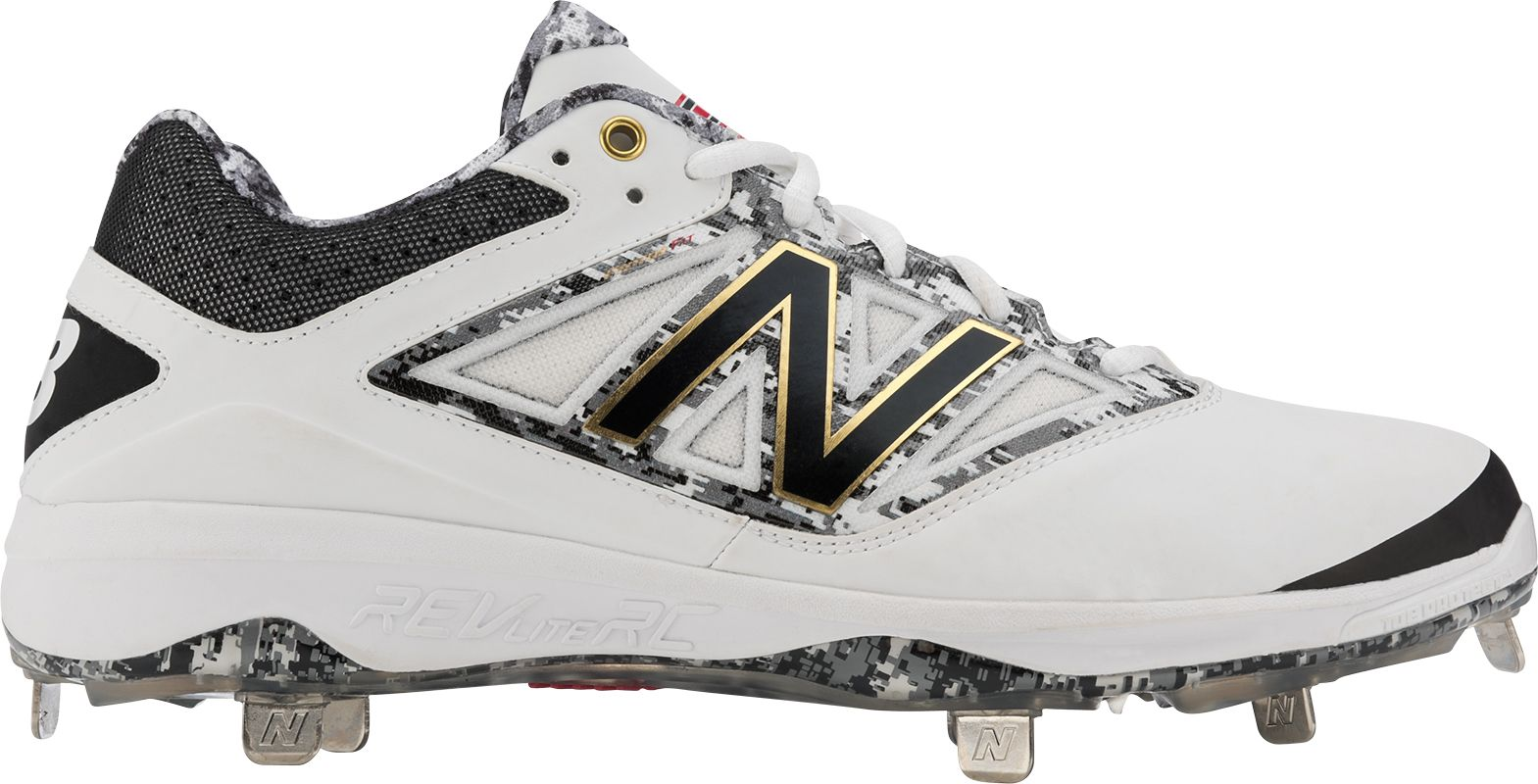 New Balance Men's Dustin Pedroia 4040 V3 Metal Baseball Cleats. 0:00. 0:00  / 0:00. noImageFound ???