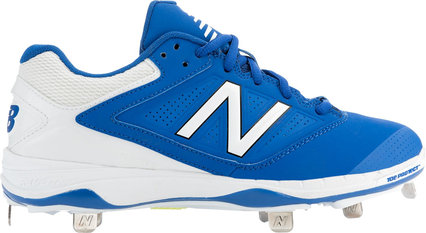 Product Image � New Balance Women\u0027s 4040 V1 Metal Fastpitch Softball Cleats  � Cobolt Blue/White ...