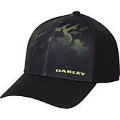 Oakley Men's Silicon Print Trucker Golf Hat