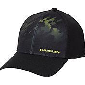 Oakley Men's Silicon Print Trucker Golf Hat