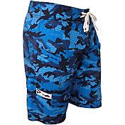 Pelagic Men's Fish Camo 4-Tek Board Shorts