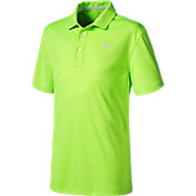 PUMA Boys' Pounce Jr. Golf Polo