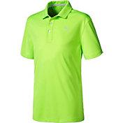 PUMA Boys' Pounce Jr. Golf Polo