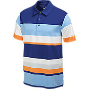 Puma Men's Road Map Cresting Golf Polo