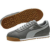 PUMA Men's Roma Waxed Denim Casual Shoes