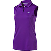 PUMA Women's Pounce Sleeveless Golf Polo
