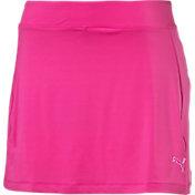 Puma Women's Solid Knit Golf Skirt