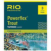 RIO Powerflex 7.5 ft. Trout Leader – 3 pk