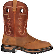 "Rocky Men's Original Ride 11"" Waterproof Western Boots"