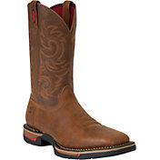 """Rocky Men's Long Range 12"""" Waterproof Steel Toe Wide Work Boots"""