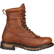 Rocky Men's Original Ride Lacer 8'' Waterproof Work Boots