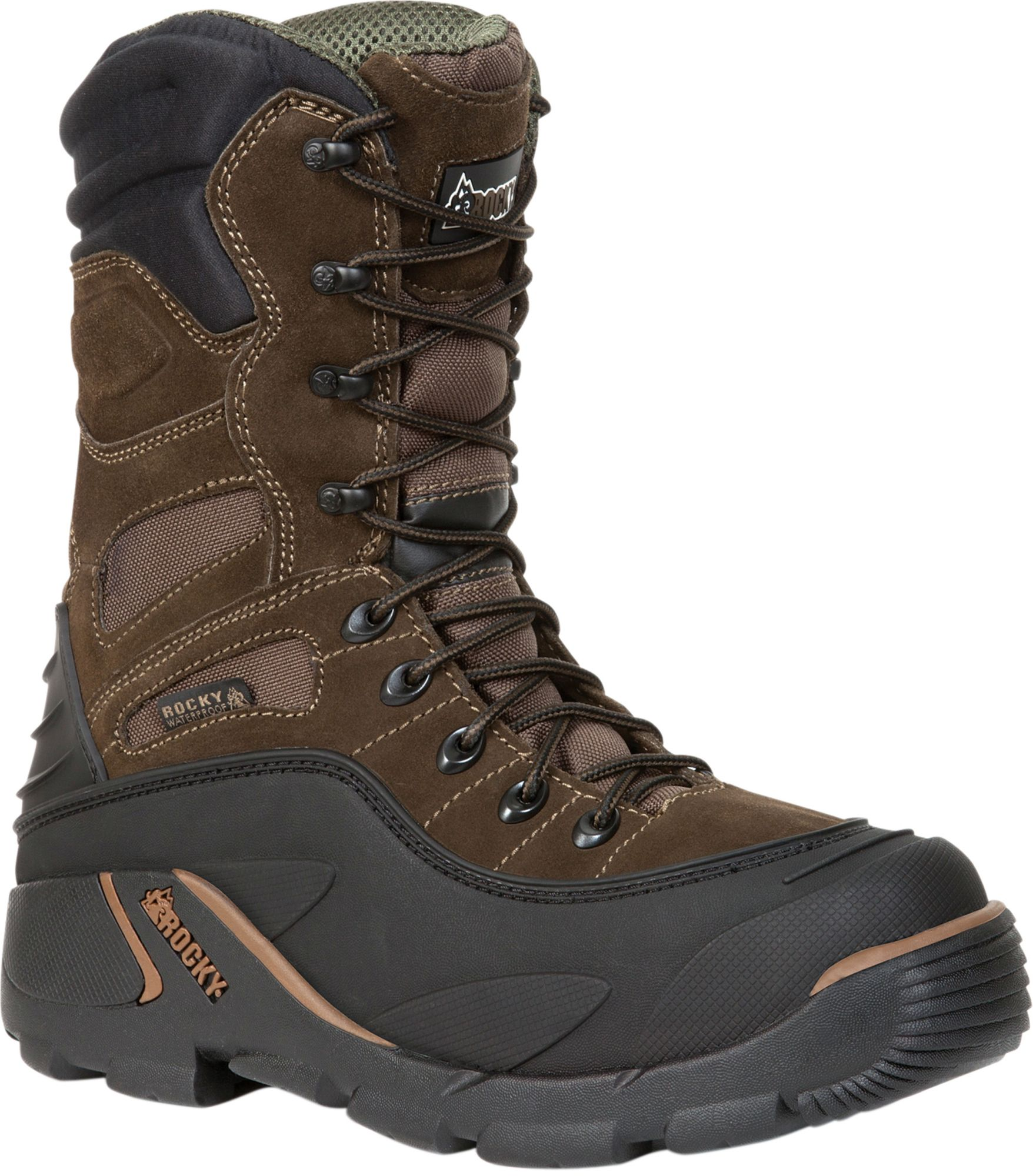Rocky Men's Blizzard Stalker Pro Waterproof 1200g Winter Boots ...
