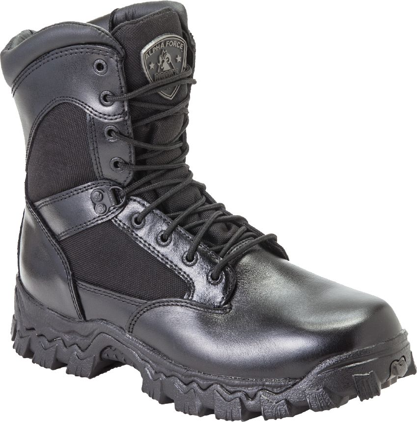 Rocky Men's AlphaForce Zipper Waterproof Work Boots| DICK'S ...