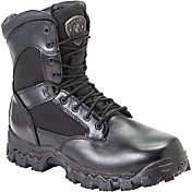 Rocky Men's AlphaForce Zipper Waterproof Work Boots