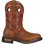"Rocky Men's Original Ride Branson Saddle 11"" Waterproof Western Boots"