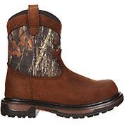 """Rocky Kids' Ride Wellington 8"""" Waterproof Field Hunting Boots"""