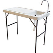 Sportsman Elite Portable Fish Table with Faucet