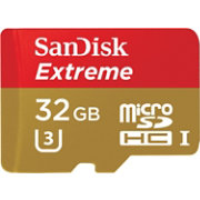 SanDisk Extreme microSDHC 32 GB Memory Card