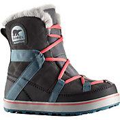 SOREL Women's Glacy Explorer Shortie Waterproof Winter Boots