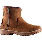 SOREL Women's Meadow Zip Pull-On Waterproof Boots